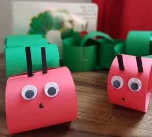 The very Hungry Caterpillar #papercrafts, #toddlercrafts