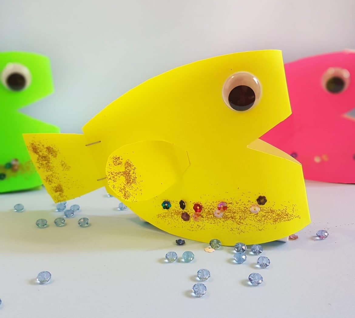 Swimmy: Easy Paper fish Craft