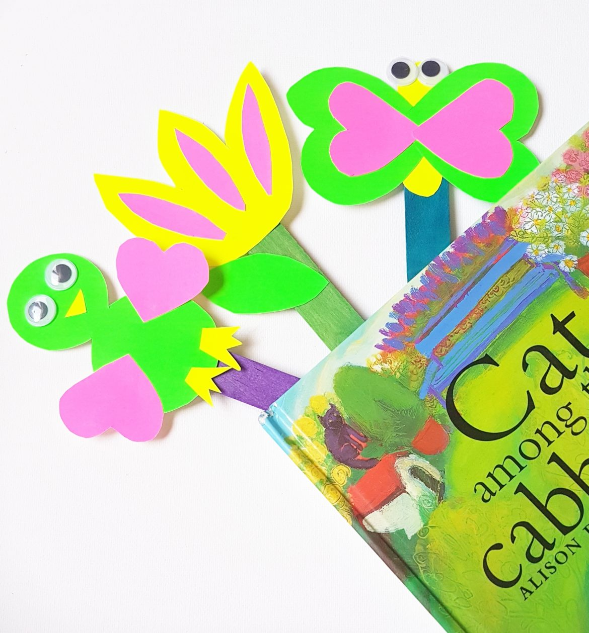 Spring Bookmarks Fun and Creative