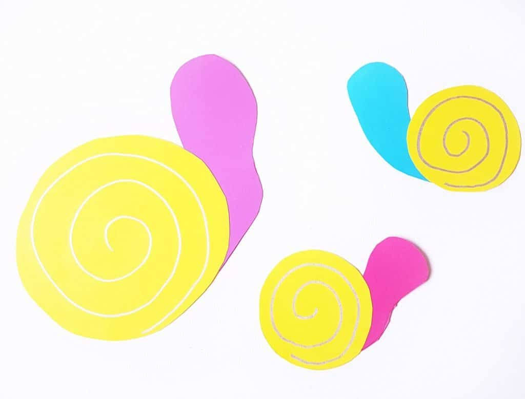 Pom pom snails craft 4