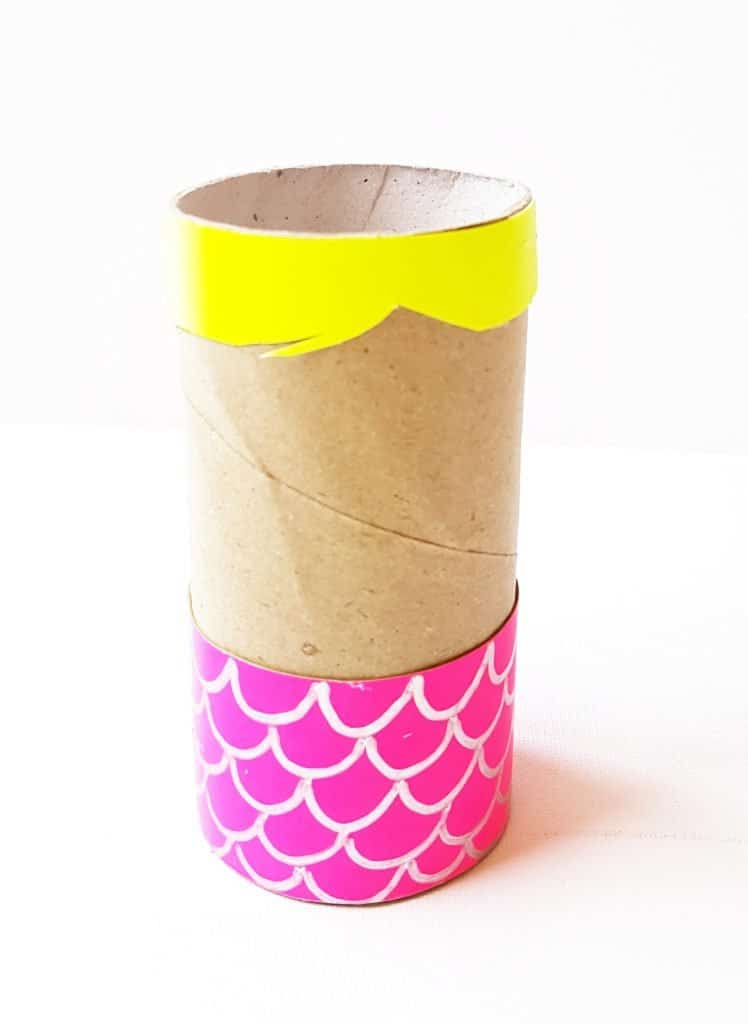 How To Make Easy Mermaid Craft Using Paper Roll