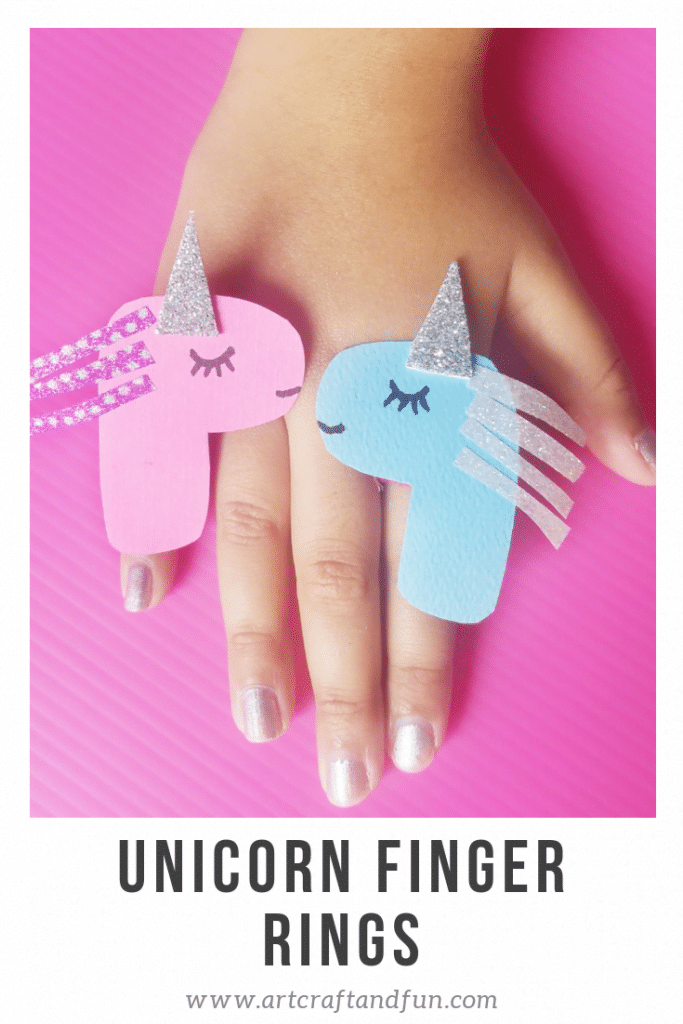 Unicorn craft finger ring
