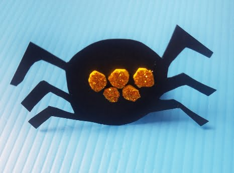 Halloween creepy spider ring