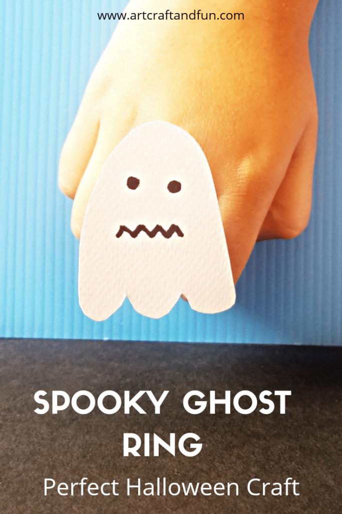 Halloween craft spooky rings