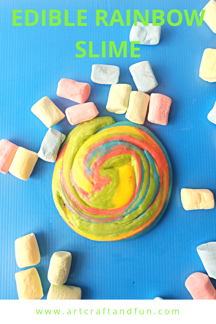 Rainbow Edible Slime