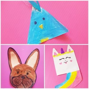 Paper crafts are the easiest way to keep your kids busy. And the best part is you dont need to go buy anything from a craft store! #papercrafts, #funcrafts, #shapes, unicorncraft, #puppycrafts, #toddlercrafts, #preachoolcrafts