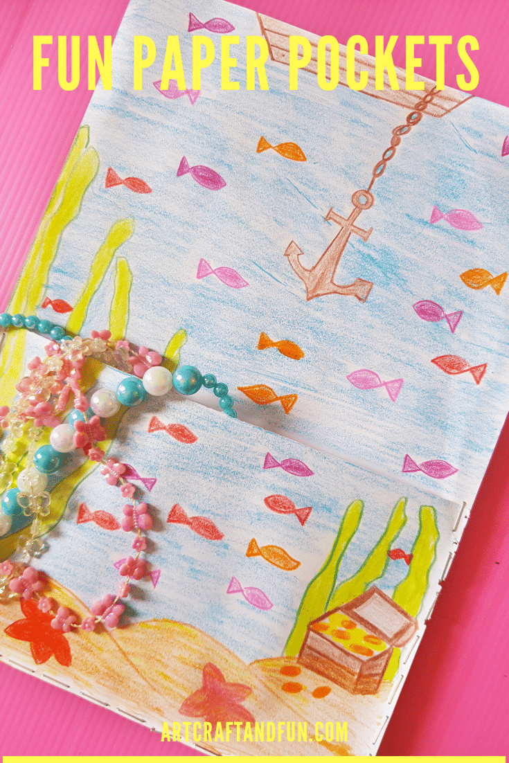 Under the Sea Craft: Paper Pocket