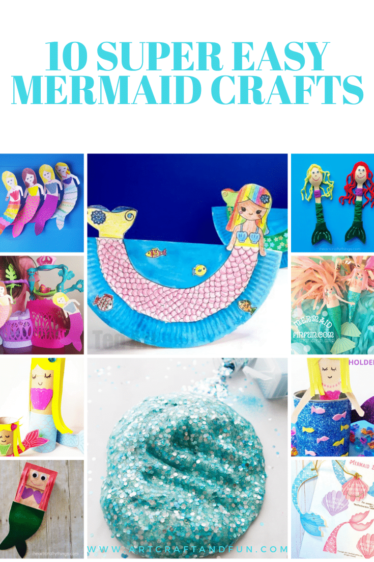 10 Best Mermaid Crafts