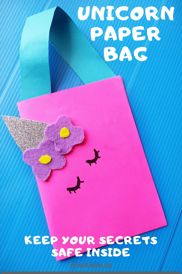 Magical DIY Unicorn Paper Bag