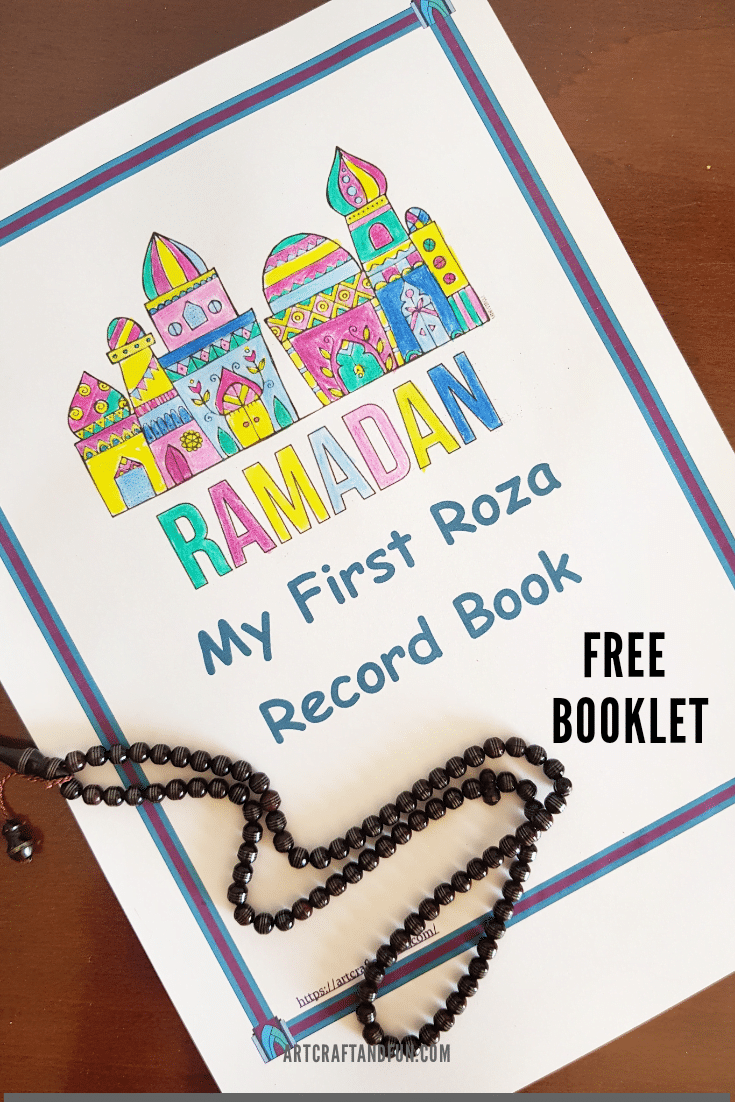 Ramadan Activity: My First Roza Record Book (Free)