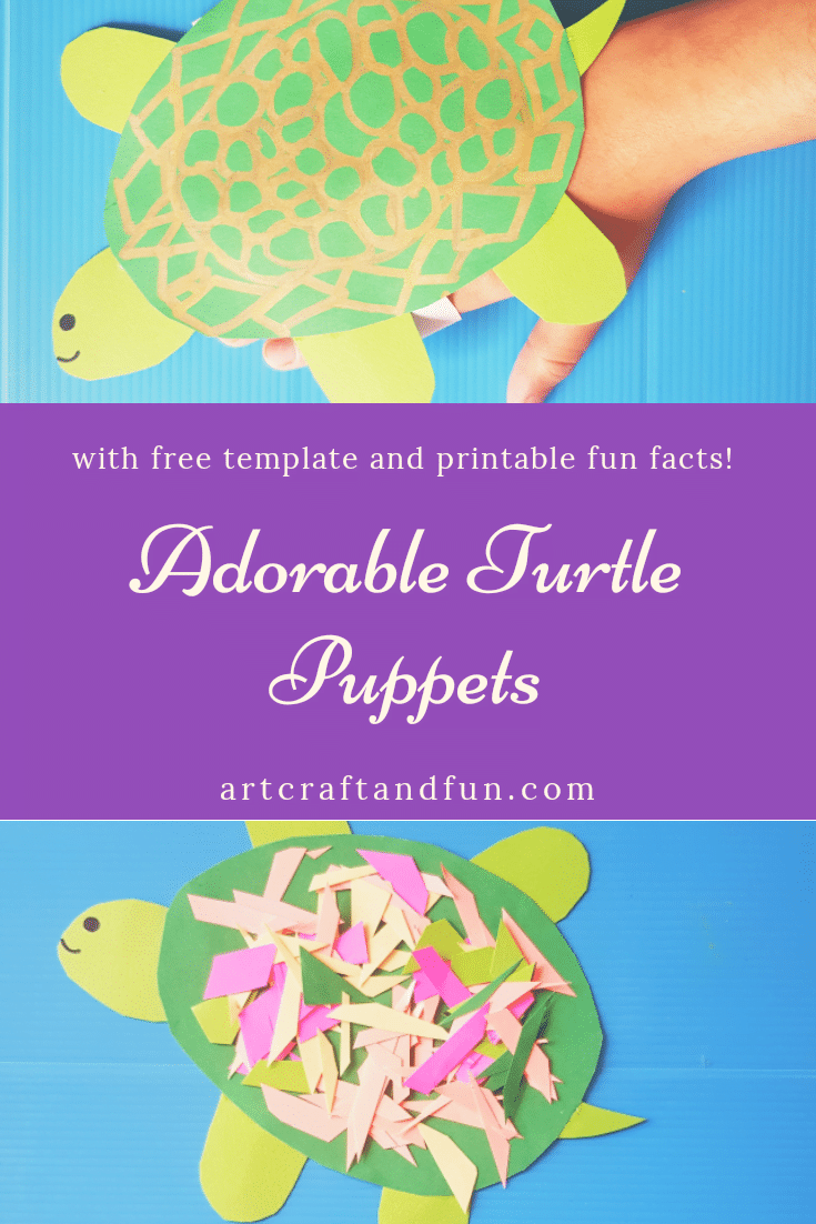 Adorable Turtle Craft for Toddlers