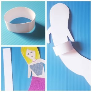 Make this Free Printable Easy Mermaid Craft Finger Puppets today. #mermaidcraft #diymermaid #oceancrafts #undertheseacrafts #easycrafts #funcrafts #girlcrafts