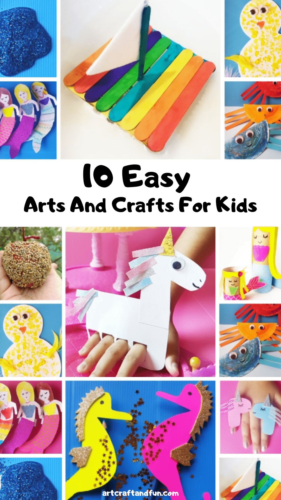 10 Easy Arts And Crafts To Do At Home With Kids