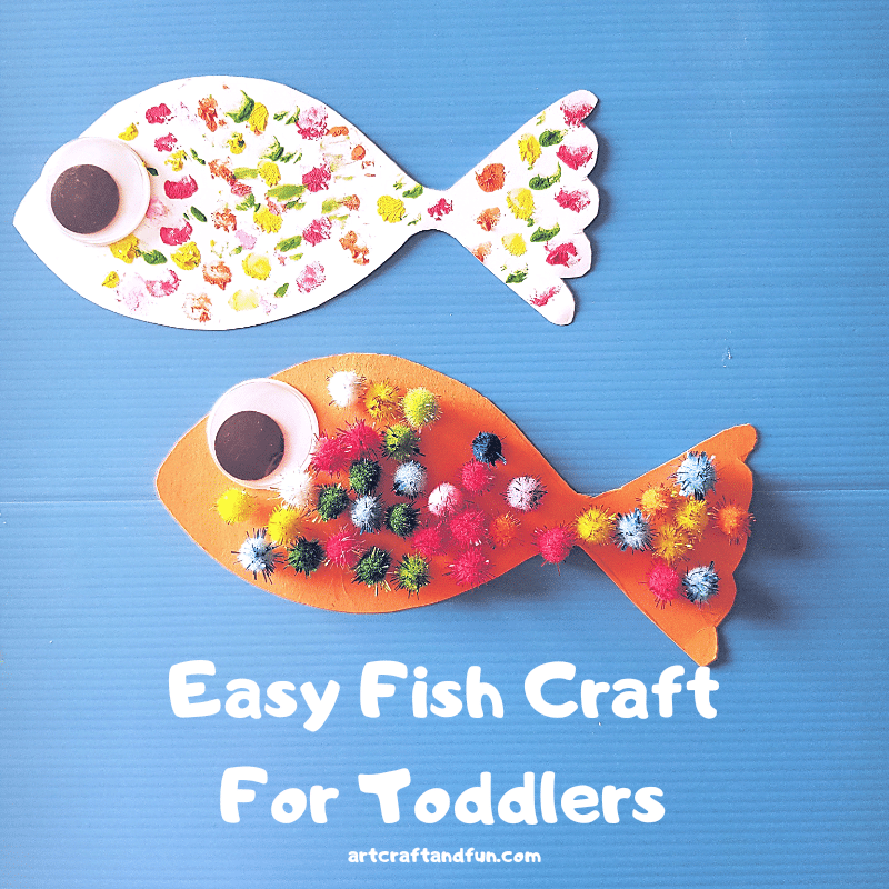 Easy Fish Craft For Toddlers