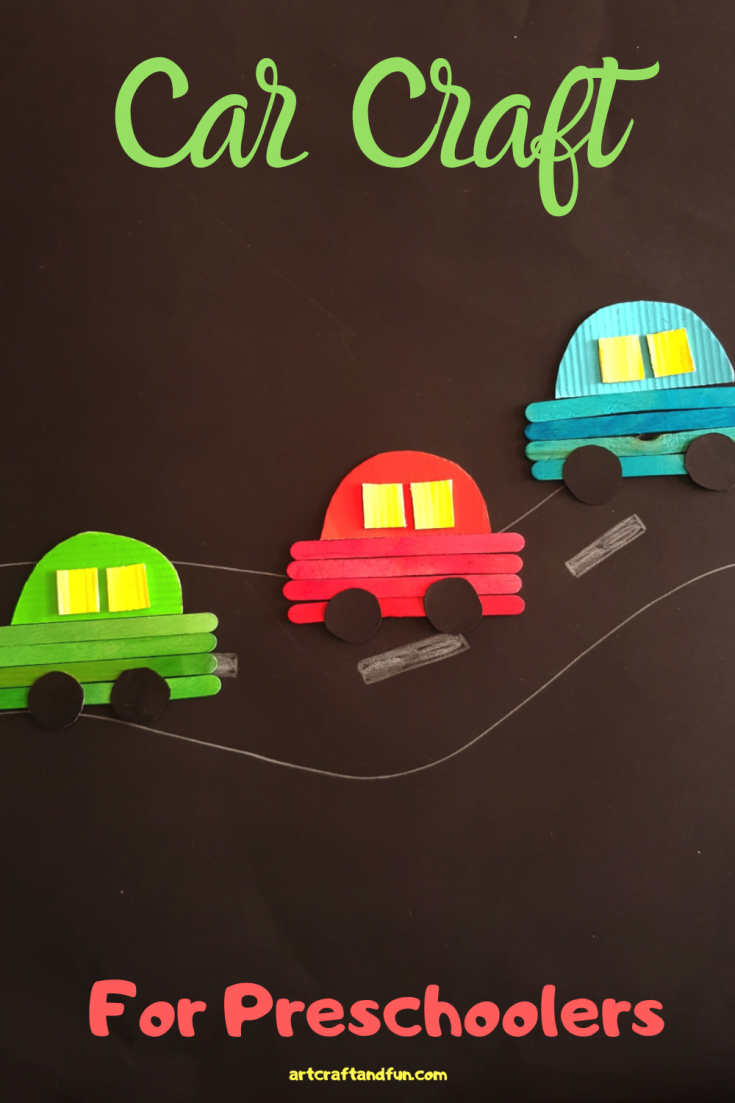 How To Make Car Craft For Preschoolers