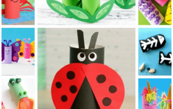 Enjoy this amazing list of 15 Easy Toilet Paper Roll Crafts For Kids. These fun and colorful crafts are perfect for Preschoolers. #paperrollcraft #paperrollcraftsforpreschool #toiletpaperrollcraftsforkids