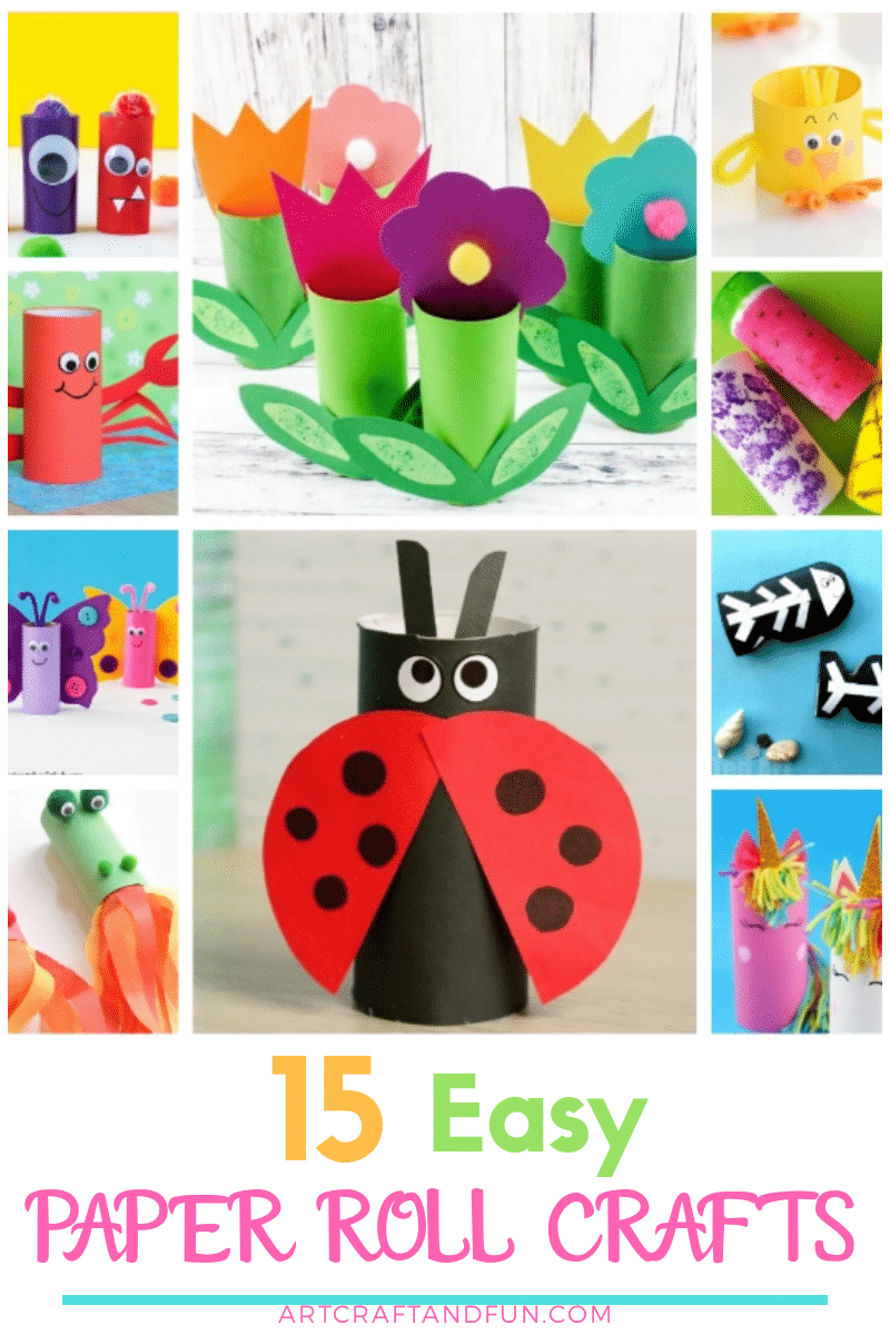 15 Easy Toilet Paper Roll Crafts For Kids