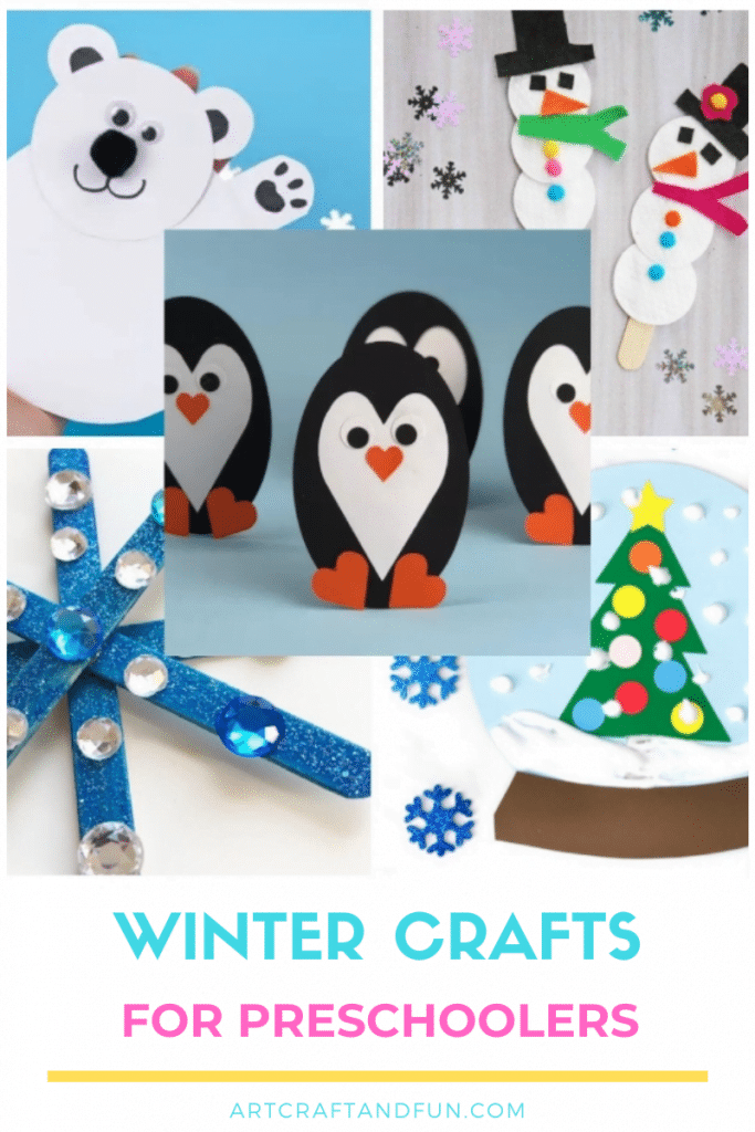 Check out these Top 5 Winter Crafts For Kids