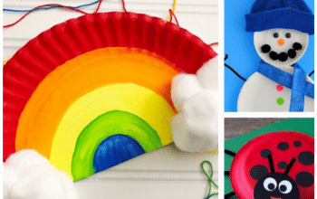 Check out this amazing collection of Paper Plate Crafts For Kids. #paperplatecraftforkids #paperplatecraftsforpreschoolers #paperplatecraftsfortoddlers