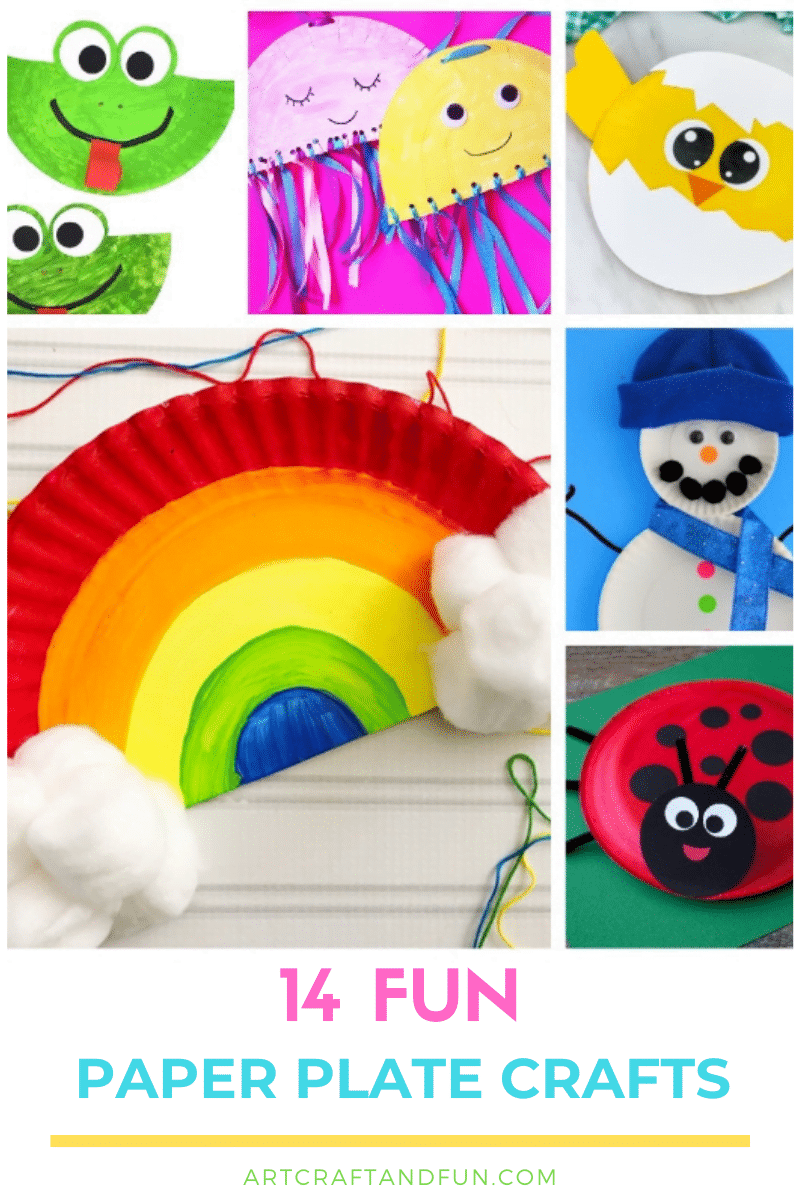 14 Paper Plate Crafts For Kids
