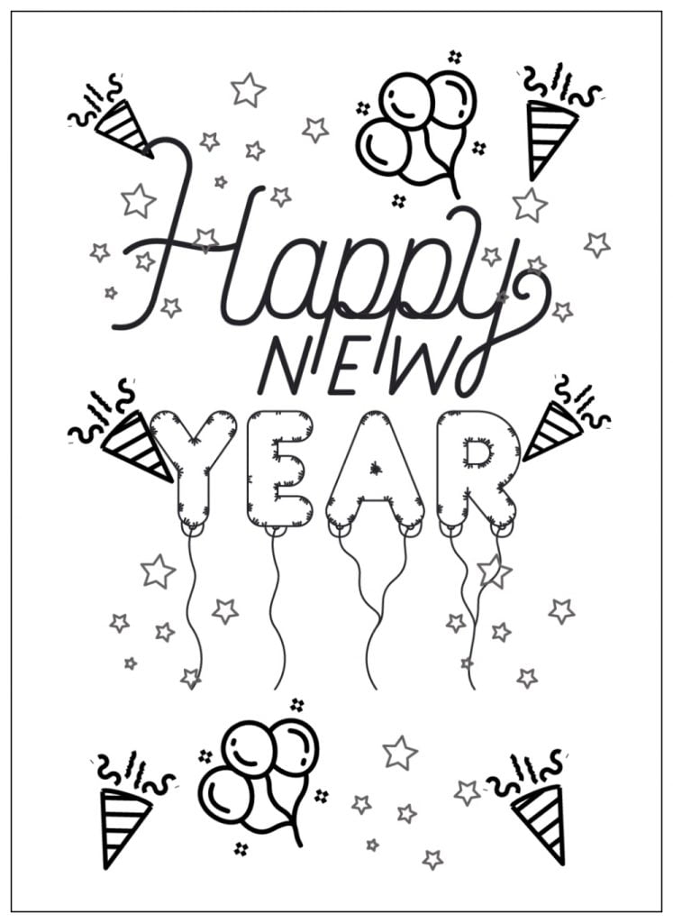 Get 3 Free Printable New Year Worksheets along with fun winter activities ideas for this New Year's Eve! Perfect for creating beautiful keepsake memories with your kids. #freenewyearworksheets #freewinterworksheets #newyearactivitesforkids