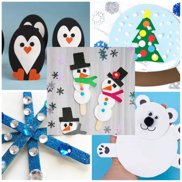 The Top 5 Winter Crafts For Preschoolers