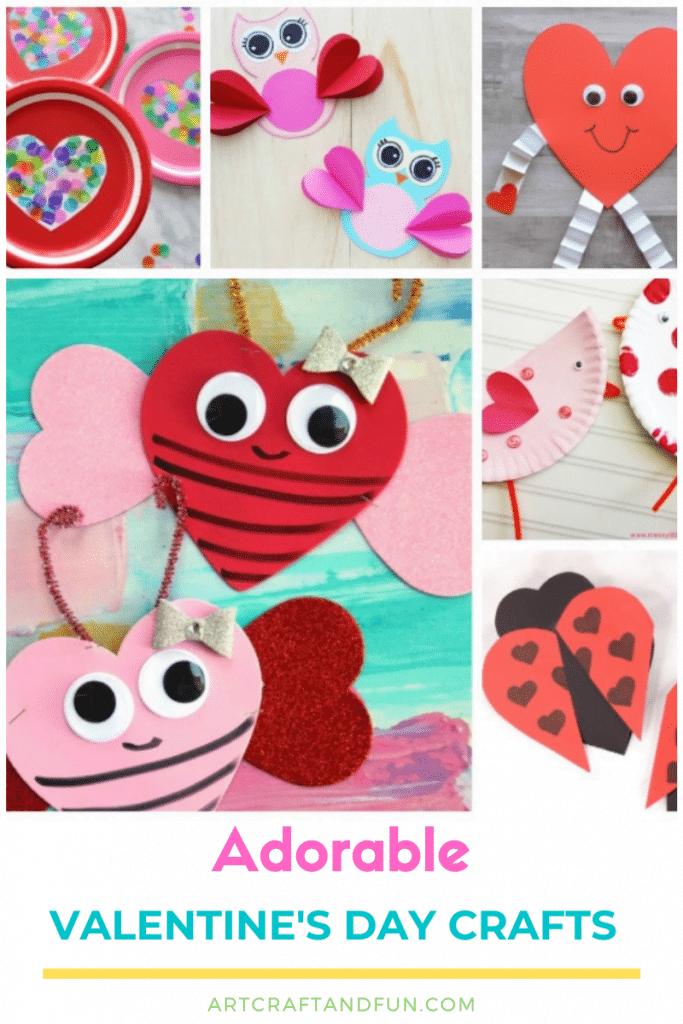 Easy Valentine's Day Crafts For Preschool