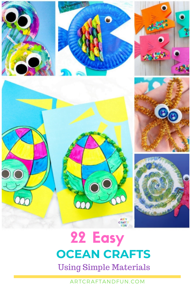 Easy Ocean Crafts For Kids