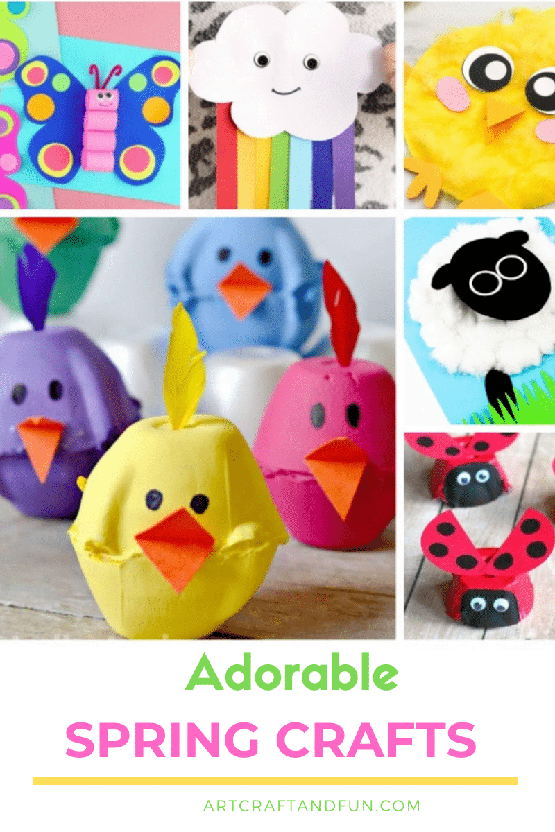 Easy Spring Crafts For Kids