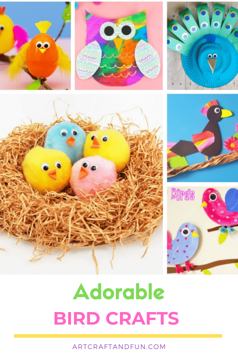 Easy Bird Crafts For Kids Of All Ages