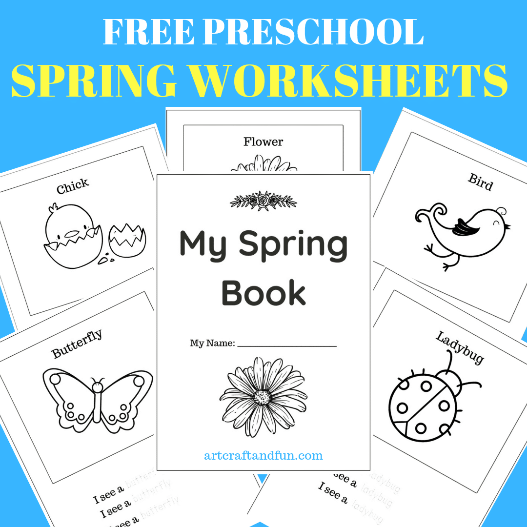 Free Printable Spring Worksheets For Preschoolers