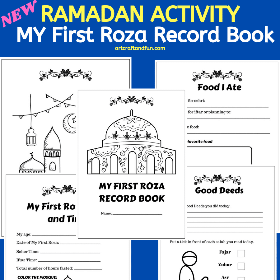Ramadan Activity: My First Roza Record Book ( New and Free)