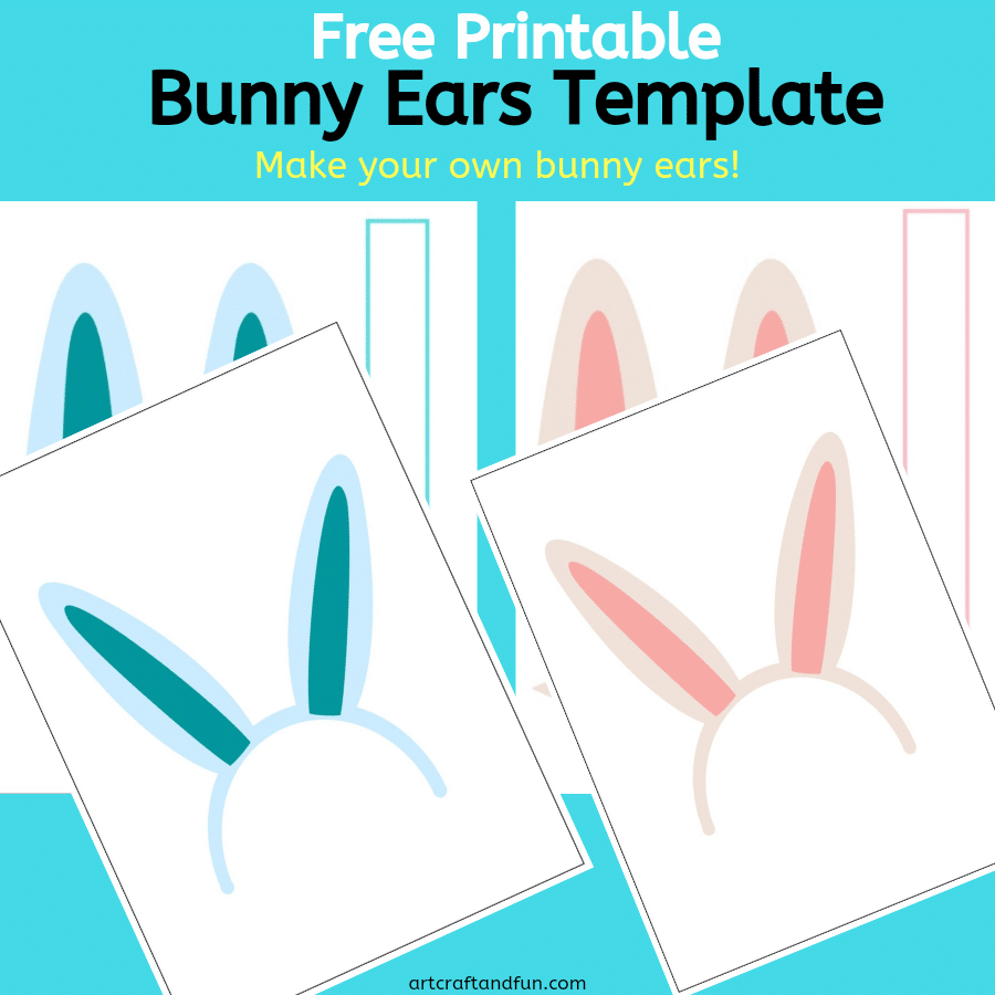 Bunny Ears Template