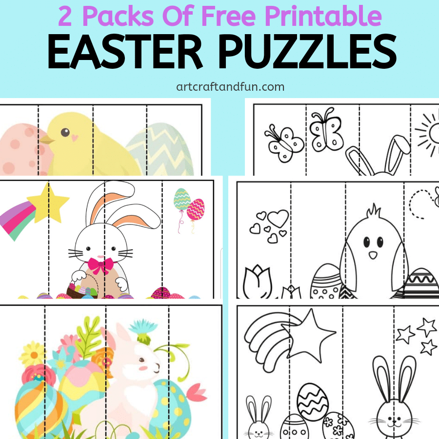 Free Printable Easter Puzzles
