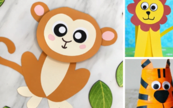 10 Animal Crafts For Kids