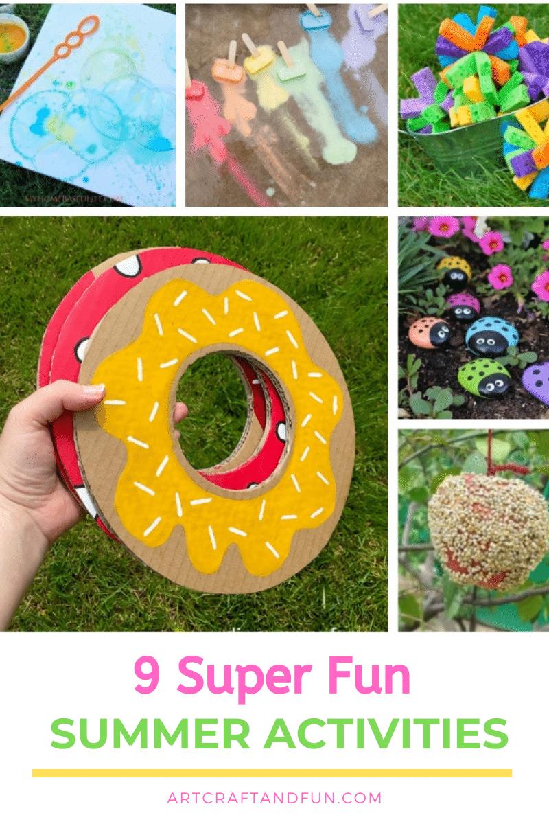 9 Super Fun Summer Activities For Kids