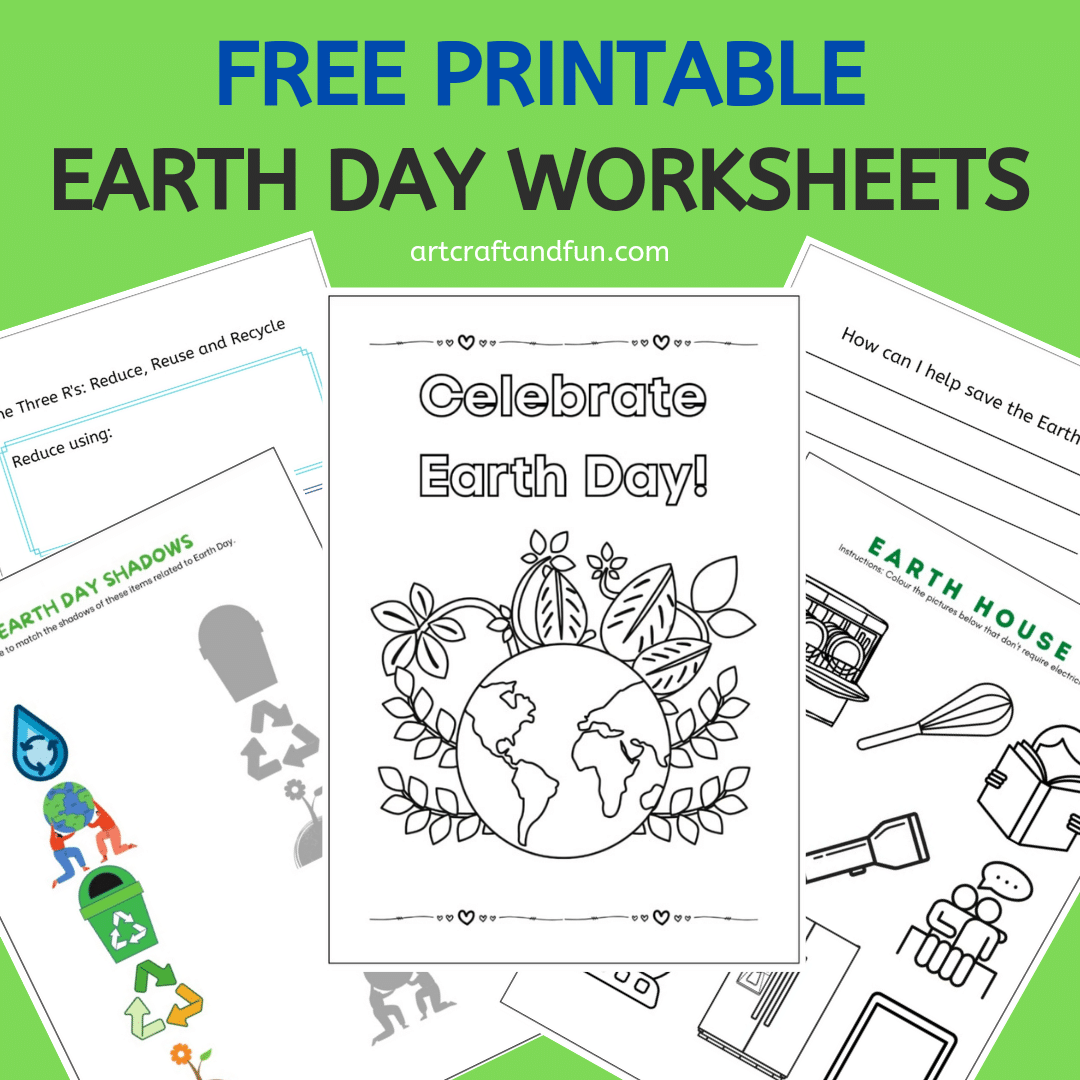 Free Printable Earth Day Worksheets Pack