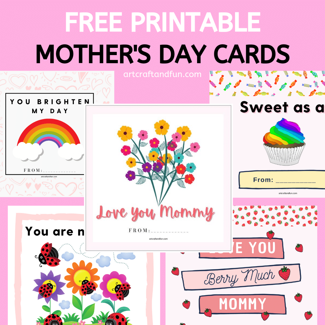 Free Printable Mother's Day Cards For Kids