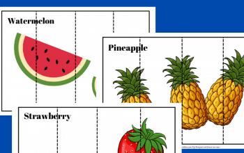 Free Printable Fruit Puzzles